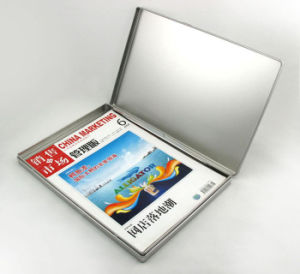 Rectangular Tin Box with Hinge pictures & photos