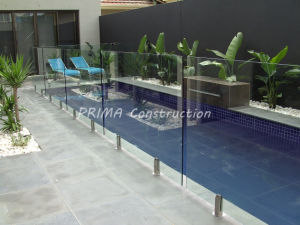 Australia Standard Glass Pool Fence Panels pictures & photos