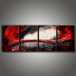 Hand-Painted Abstract Art, Modern Group Oil Painting (KLMA4-0025)