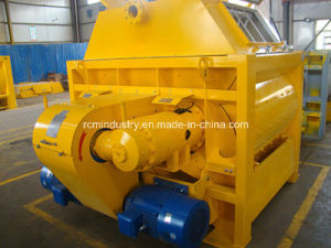 Double Shafts Concrete Mixer pictures & photos