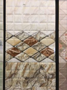 Grey Non-Waterproof Living Room Ceramic Wall Tiles with Pallet (12′x24′) pictures & photos