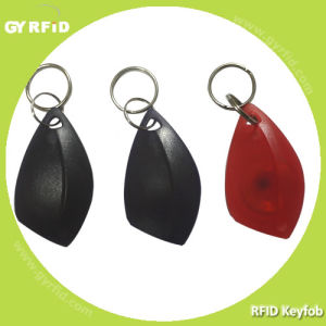 125kHz Em4102, ATA5577, 13.56MHz ISO14443A Keyfobs pictures & photos