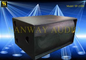 Bass Loudspeaker, PRO Audio Subwoofer (S218+) pictures & photos