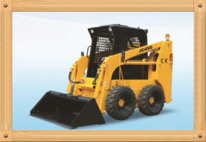0.7 Ton 37kw 0.4m3 Skid Steer Loader with CE (JC45) pictures & photos