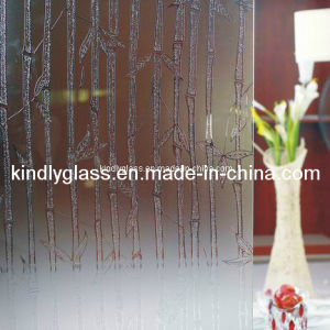 Deep Acid Etched Glass pictures & photos
