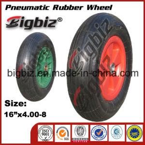 ISO9001: 2008 Pneumatic Rubber Wheel for Wheelbarrow pictures & photos