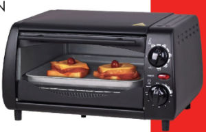 Mini Electric Toaster Oven with 10L, 800W