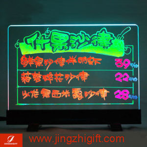 Sparkling Rewritable LED Meun Board With Self-Stand (JZF-191)