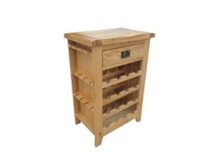Wooden Wine Racks/Solid Oak Wooden Wine Cabinet
