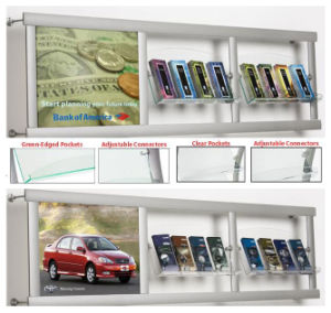 Aluminum Wall Mounted Frame with Acrylic Pockets pictures & photos
