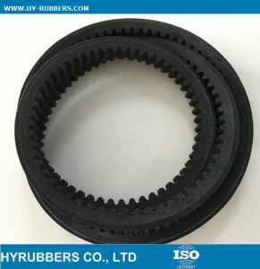 Raw Edge Cogged Rubber V Belt (ZX AX BX CX) pictures & photos