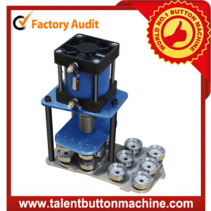High Speed Interchangeable Multiple Pneumatic Button Making Machine Sdap-MP pictures & photos
