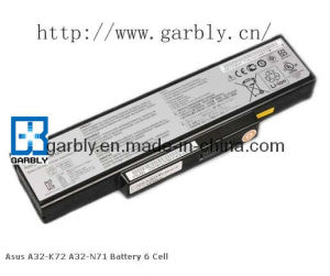 11.1V Laptop Battery for Asus A32-N71 (6-Cell) pictures & photos
