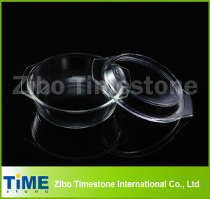 Boro Silicate0.7L Round Casserole With Cover In Bulk Pack pictures & photos