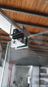 Simple 8mm Glass Walk in Shower Screen Door Nano pictures & photos