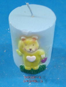Christmas Bear Candle (DIH)