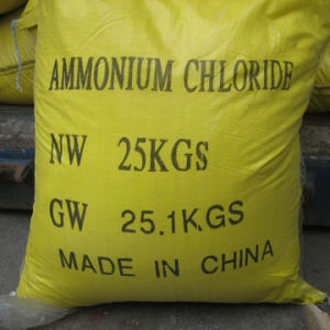 Manufacture with ISO Certificate Produce Ammonium Chloride 99.5% pictures & photos