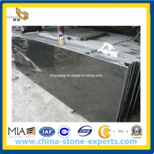 Mongolia Black Stone Basalt for Slab, Tile, Paver, Countertop pictures & photos