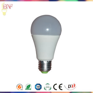 A60 5W/7W Sensor Solar LED Light Bulb for DC 12V/24V pictures & photos