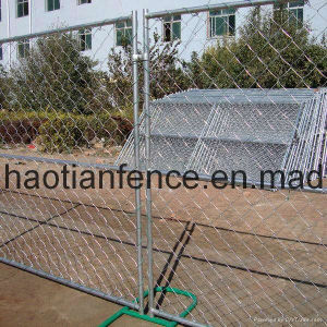 Chain Link Temp Fencing pictures & photos