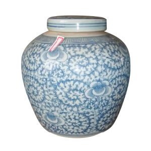 Antique Vase White and Blue (LW401) pictures & photos