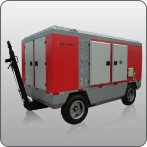 75kw Cummins Diesel Portable Screw Air Compressor (ERC-100SALCY)