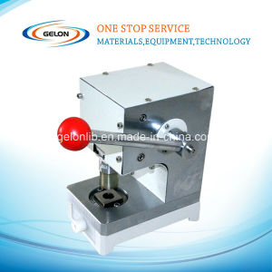 Lithium Ion Battery Punching Machine for Coin Cell Stamping Machine (GN-20) pictures & photos