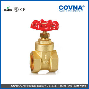 Brass Forged Threaded Gate Valve pictures & photos