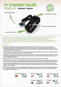 TV Socket: TV Standby Saver (KQ03-01)