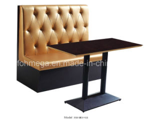 Bar/Restaurant Furniture Booth Sofa Seating Design (FOH-XM30-628) pictures & photos