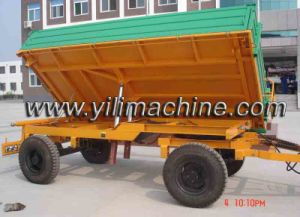 Heavy Trailer with Hydraulic System Price pictures & photos
