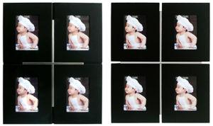 Wall Gallery Wood Aluminum Photo Frame (PF-00166)