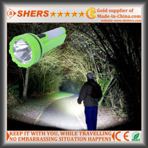 Solar 1W LED Torch with Reading Light for Hunting (SH-1937) pictures & photos