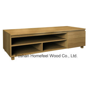 Contemporary Design Wooden Living Room TV Stand Cabinet (TVS27) pictures & photos