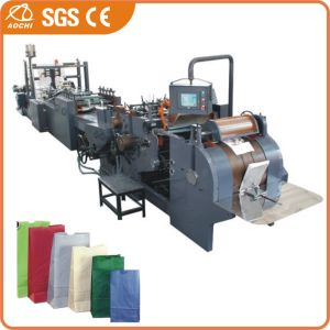 High-Speed Roll Fed Square Bottom Paper Bag Machine (HD330) pictures & photos