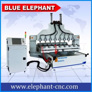 Ele-2017 3D CNC Wood Carving Router with CNC Router 3D Wood for Sale pictures & photos