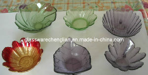 Machine -Made Various Kind of Solid Color Glass Plate (P-393) pictures & photos