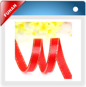 1.5′′ Discount Little DOT Printing Grosgrain Ribbon pictures & photos