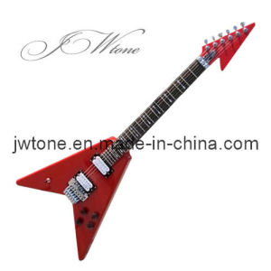 Custom Flying V Floydrose Tremolo Electric Guitar pictures & photos