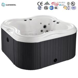 Outside Inflatable Stainless Steel Hot Tub with Best Blower, Skirting and Balboa System (SR828) pictures & photos