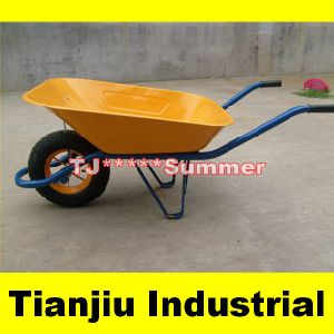 Dubai Popular Galvanised Construction Wb6400 Wheelbarrow pictures & photos