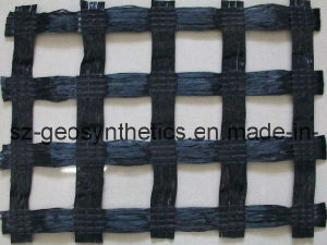 Warp Knitted Polyester Geogrid 600/600 KN/M (GPA600X600)