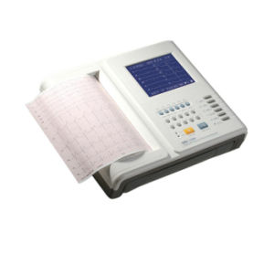 CE Certified Digital 12 Channel ECG Machine Electrocardiograph EKG-ECG 1201) pictures & photos