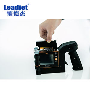 Easy Contral U2 Handheld Inkjet Printer for Carton Box pictures & photos