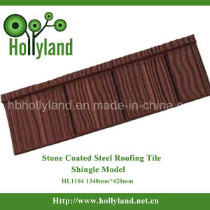 Stone Coated Metal Roof Tile (Wooden type) pictures & photos