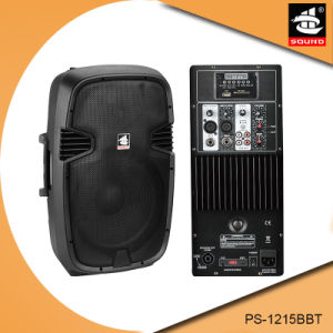 15 Inch Bluetooth 150W Power FM Active PA Speaker PS-1215BBT pictures & photos