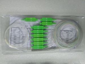 2.0mm 1.5m G657A1 1*8 Stainless Steel Tube PLC Splitter with Sc/APC Connectors pictures & photos