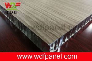 Wooden Color Aluminum Honeycomb Panel for Furniture pictures & photos