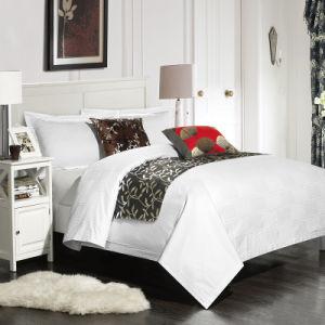 20/80 Polycotton Plain White Cheap Price Bedding Set Hotel Textile (JRD036)