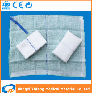 OEM Cotton Non Sterile Lap Sponge for Surgical Use 45cmx37cm-4ply Unwashed pictures & photos